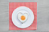 Breakfast for a loved one — Stock Photo