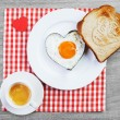 Stock Photo: Breakfast for loved one
