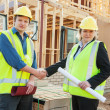 At the construction site — Stock Photo #47517941