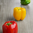 Multicolored peppers — Stock Photo