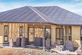 New home construction — Stock Photo