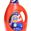 Bright orange bottle of Tide laundry detergent — Zdjęcie stockowe