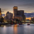 HDR image of the skyline of Providence, Rhode Island — Stock Photo #13422399