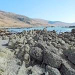 Rocky beach on the Lost Coast of California — Stock Photo