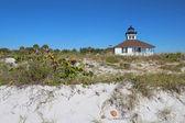 Puerto boca grande faro gasparilla island, florida — Foto de Stock