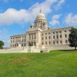The Rhode Island State House on Capitol Hill in Providence — Stock Photo #20408581