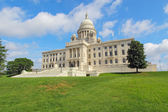 The Rhode Island State House on Capitol Hill in Providence — 图库照片