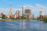 Skyline of Providence, Rhode Island — Stock Photo
