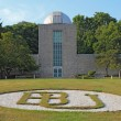 Holcomb Observatory and Planetarium on the Butler University cam — Stock Photo