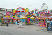 Entrance to Kiddie Land at the Indiana State Fair in Indianapoli — Stok fotoğraf