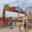 Stock Photo: Entrance to Kiddie Land at IndianState Fair in Indianapoli