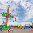 Rides on Midway at IndianState Fair — Stock Photo #34262081