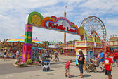Entrance to Kiddie Land at the Indiana State Fair in Indianapoli — Stock Photo