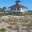 Port Boca Grande Lighthouse on Gasparilla Island, Florida vertic — Stock Photo #38267639