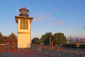 Table Bluff Lighthouse in Eureka, California — Foto Stock