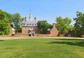The Governors Palace Building in Colonial Williamsburg, Virginia — Stock Photo