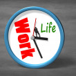 Stopping clock hand for life space — Stock Photo #44128161