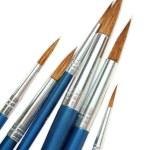 Set of new brushes — Stock Photo