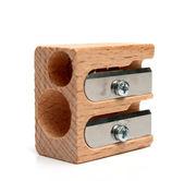 Universele puntenslijper voor potloden gemaakt van hout — Stockfoto