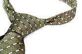 Tie with a simple pattern - a personal accessory of the business — Stock Photo