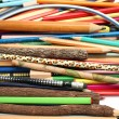 Stock Photo: Collection of pencils for plotting and drawing