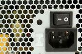 Lattice of computer power supply — Stock Photo