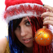 christmas girl&quot — Stock Photo #14466489