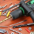 Stock Photo: Electric Drill