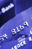 Credit Card Close-up — Stock Photo