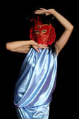 Dancing Woman — Stock Photo