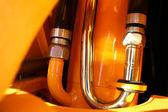 トラクターの油圧システムの詳細 — ストック写真