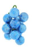 Christmas decoration, blue ball — Stock Photo