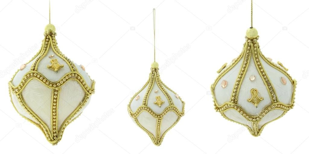 Christmas decoration, isolated on white background — Stock Photo #15405507