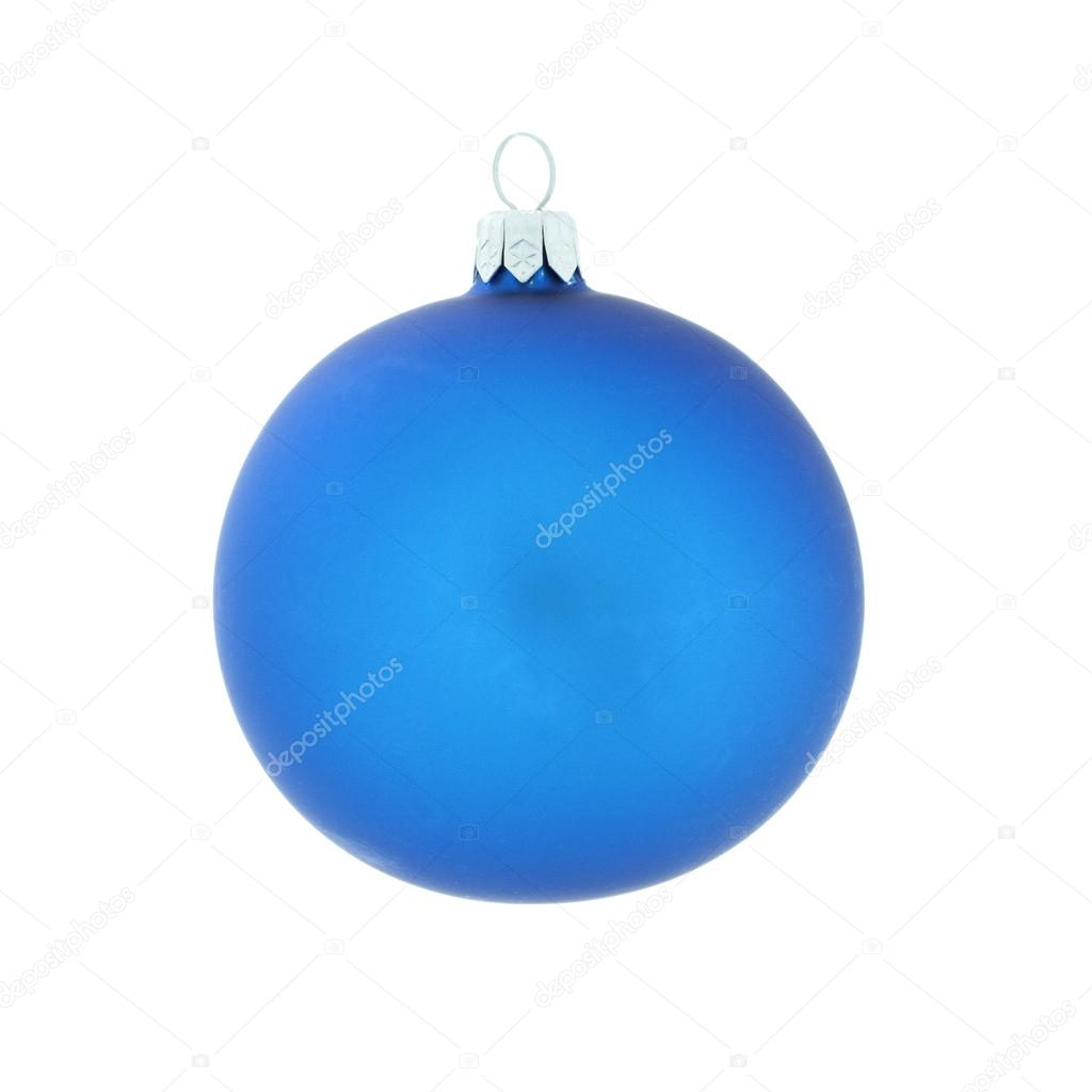 Christmas decoration, ball, isolated on white background — Stock Photo #15406001