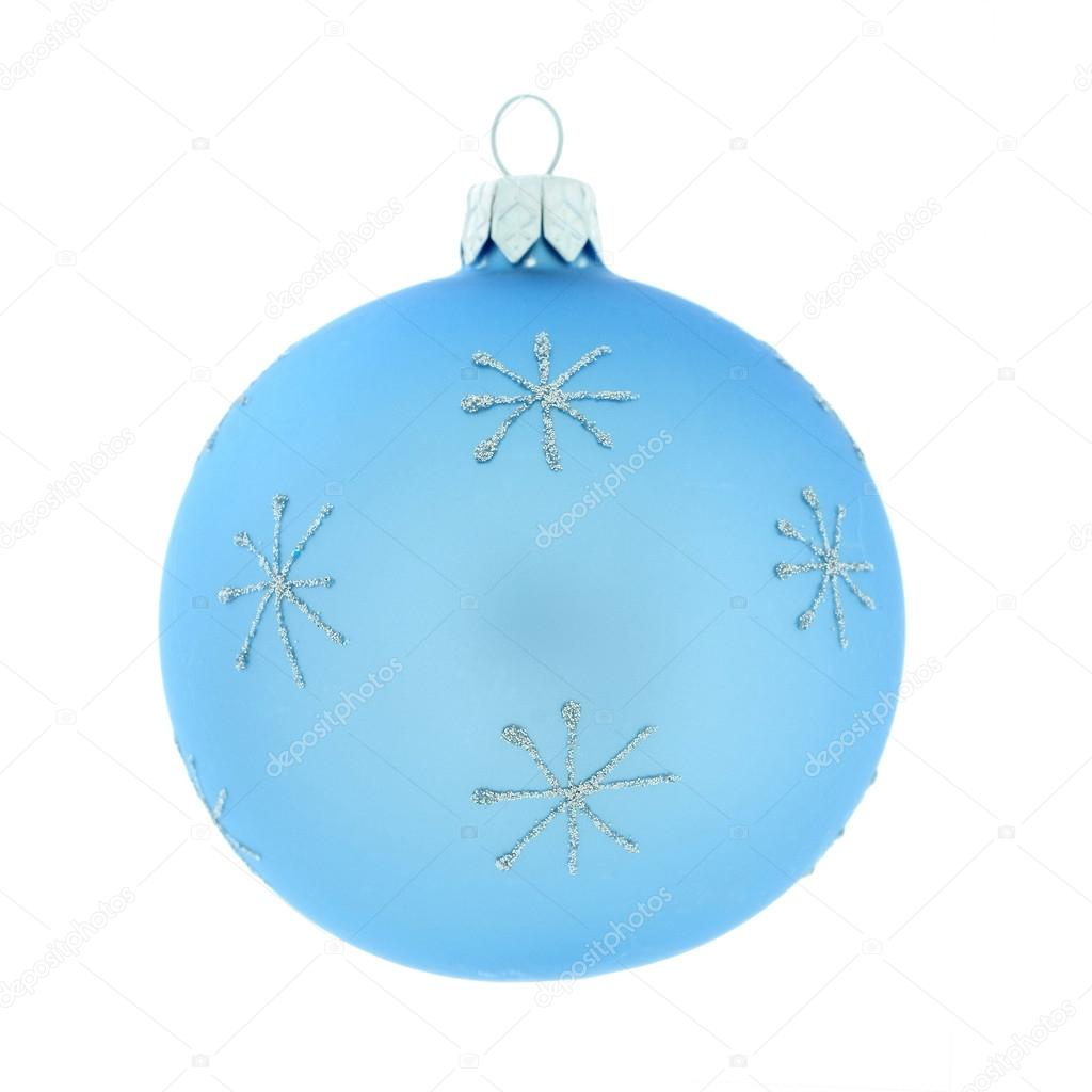Christmas decorative, ball, isolated on white background — Stock Photo #15406007