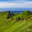 Footpath in Puy de Sancy Mountain — Stock Photo