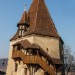 Stock Photo: The Shoemakers Tower- Sighisoara, Romania