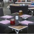 Stock Photo: Restaurant Terrace