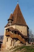 靴屋のタワー シギショアラ、ルーマニア — ストック写真