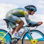 The Kazak cyclist Vinokourov Alexandr — Stock Photo #12519638