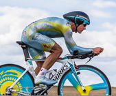 The Kazak cyclist Vinokourov Alexandr — Stock Photo
