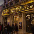 Teatro Comunale Carlo Goldoni — Stock Photo