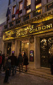 Teatro Comunale Carlo Goldoni — Stok fotoğraf