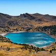 Allos Lake (Lac D'Allos) - Stock Photo
