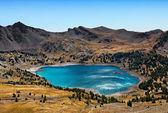 Allos Lake (Lac D'Allos) — Stock Photo