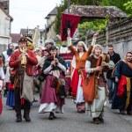 Medieval Parade — Stock Photo