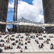 Lunch Time in La Defense — Stock Photo