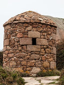 Stone Shelter — Stock Photo