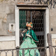Venetian Costume — Stock Photo