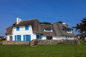 Traditional House in Brittany — Stock Photo